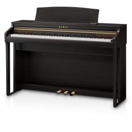 Kawai CA-48 R Rosenholz Digital Piano Sparpaket mit Klavierbank und Kopfhörer und Songbook