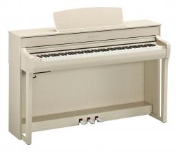 Yamaha CLP-745 WA Digital Piano Weißesche  Sparpaket mit Klavierbank und Kopfhörer und Songbook