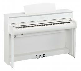 Yamaha CLP-775 WH Digital Piano Weiß matt Sparpaket mit Klavierbank und Kopfhörer und Songbook