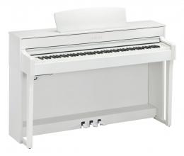 Yamaha CLP-645 WH Digital Weiss matt
