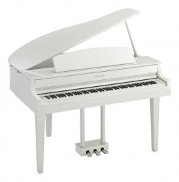 Yamaha CLP-665 GPWH Digital Piano Weiss poliert Sparpaket