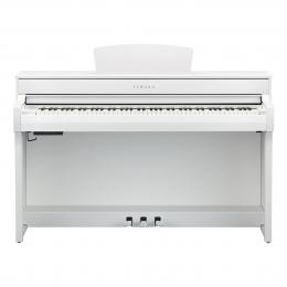 Yamaha CLP-735 WH Digital Piano Weiss matt Sparpaket mit Klavierbank und Kopfhörer und Songbook
