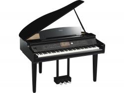 Yamaha CVP-709GP PE schwarz hochglanz Digital Piano Sparpaket