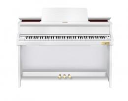 Casio GP-300 WE Grand Hybrid Digital Piano Weiß mattSparpaket mit Klavierbank und Kopfhörer