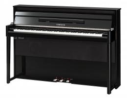 Yamaha NU-1X Hybrid Piano schwarz hochglanz Sparpaket