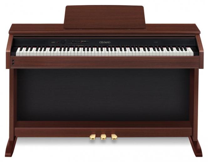 Casio AP-260 BN Digital Piano braun Sparpaket