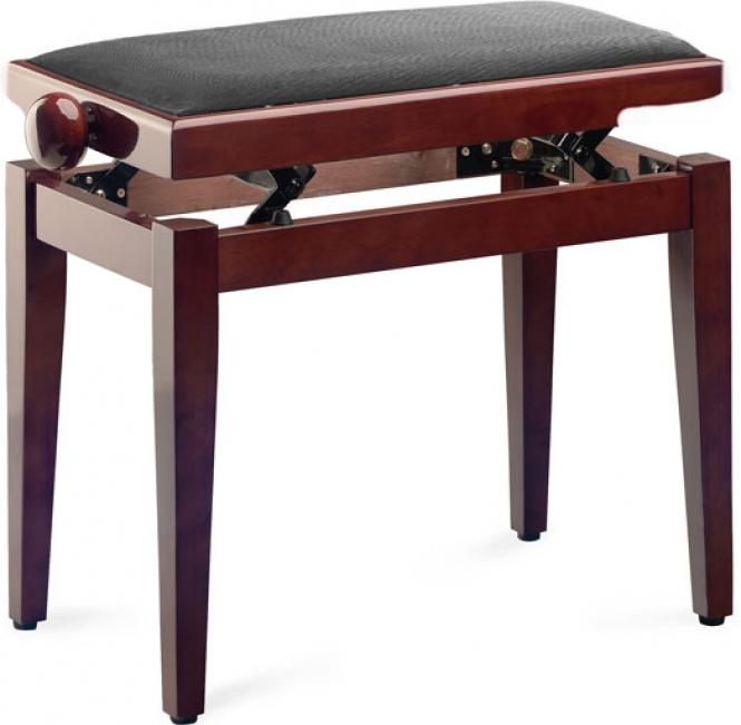 Klavierbank für Digital-Piano mahagoni poliert