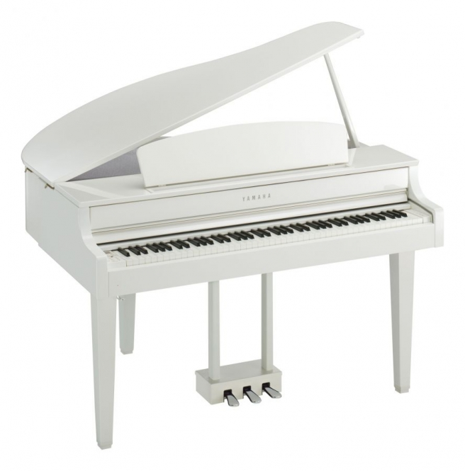 Yamaha CLP-665 GPWH Digital Piano Weiss poliert ...