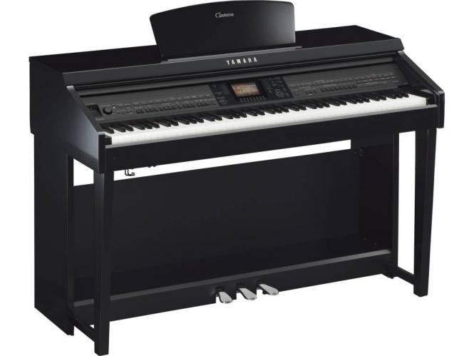 Yamaha CVP-701 PE schwarz hochglanz Digital Piano