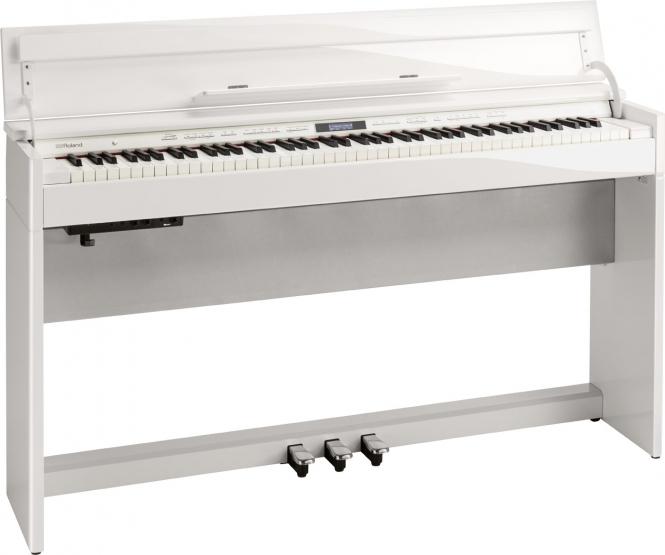 Roland DP-603 PW Digital Piano Weiß Hochglanz