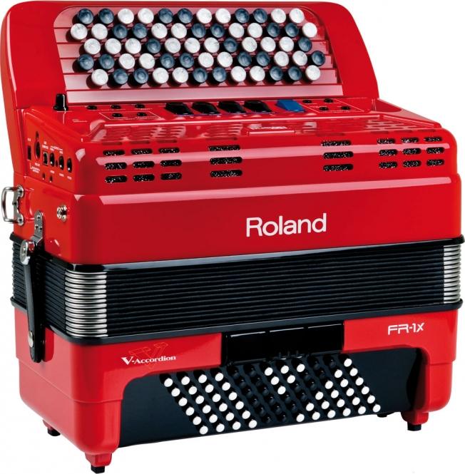 Roland FR 1XB RD V Akkordeon Knopf