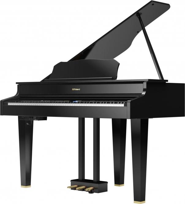 Roland GP-607PE Digital Piano FlügelSchwarz poliert