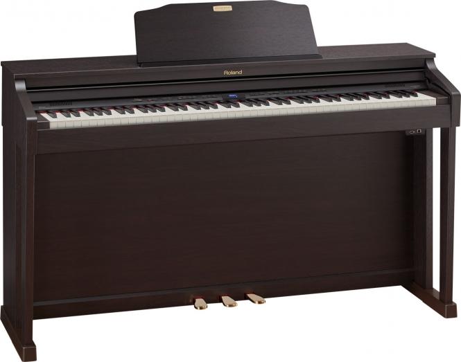 Roland HP-504 RW Digital Piano Rosenholz
