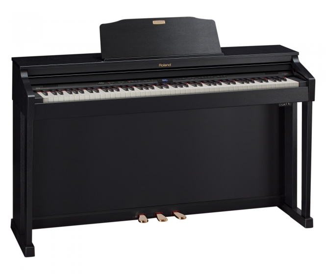 Roland HP-504 CB Digital Piano Schwarz Matt