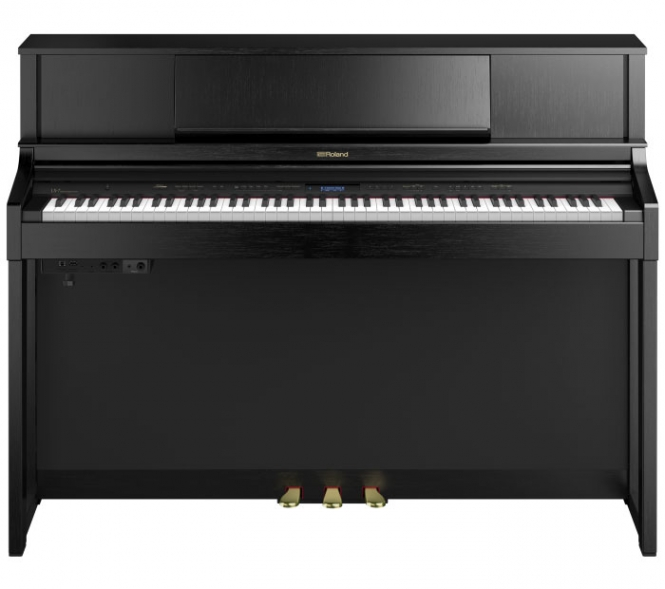 Roland LX-7 CB Digital Piano Schwarz Matt Sparpaket
