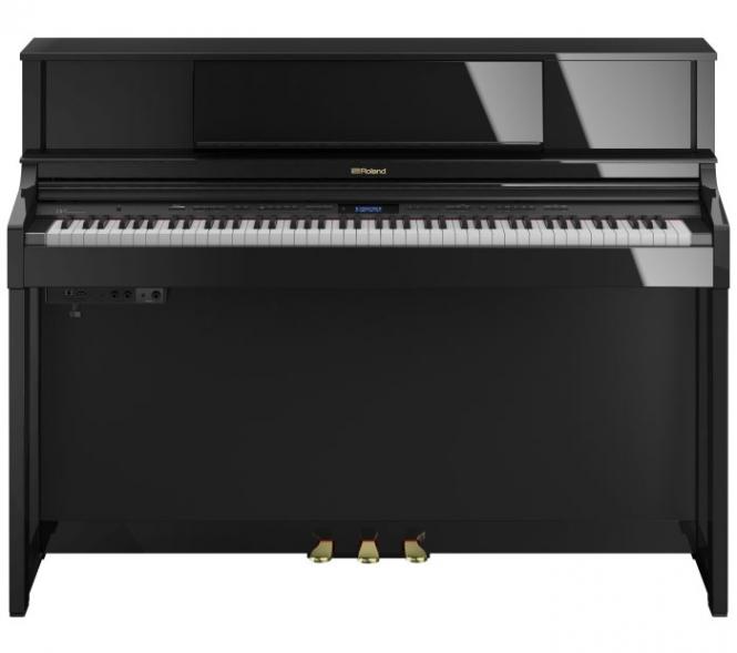 Roland LX-7 PE Digital Piano Schwarz Hochglanz ...