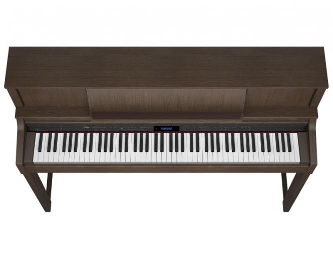 Roland LX-7 BW Digital Piano Nussbaum Sparpaket