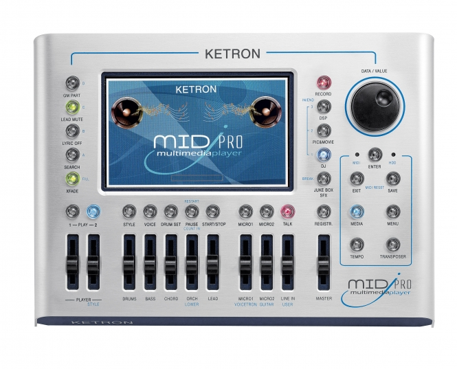 Elektronischeorgeln - KETRON MIDJPRO Multimedia Player - Onlineshop Musikzentrum Haas