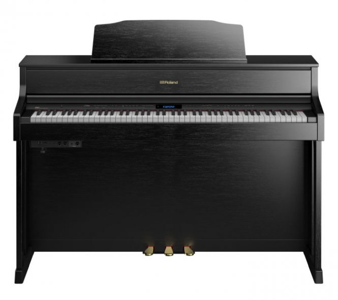 Roland HP 605 CB Digital Piano Schwarz Matt
