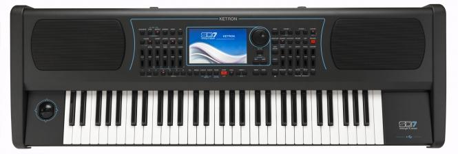 KETRON SD-7 Keyboard