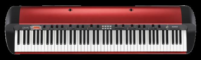 KORG SV-1 88 MR metallic-rot Stage piano