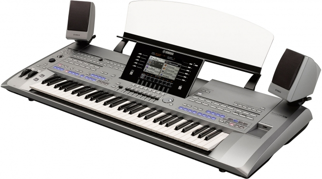 Yamaha Tyros5-61 XL mit TRS MS-5 Entertainer Gold ...