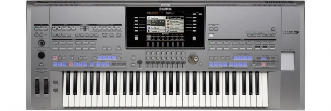 Yamaha Tyros5-61 Entertainer Gold Super Style Parade ...