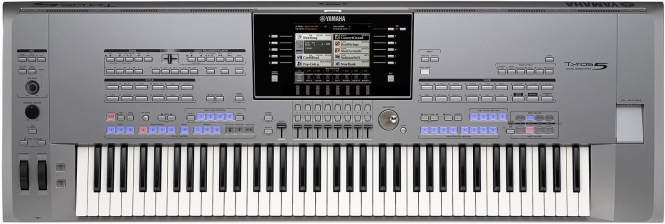 Yamaha Tyros5-76 Entertainer Gold Super Style Parade ...
