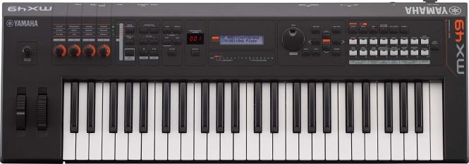 Yamaha MX 49 Version II schwarz Synthesizer