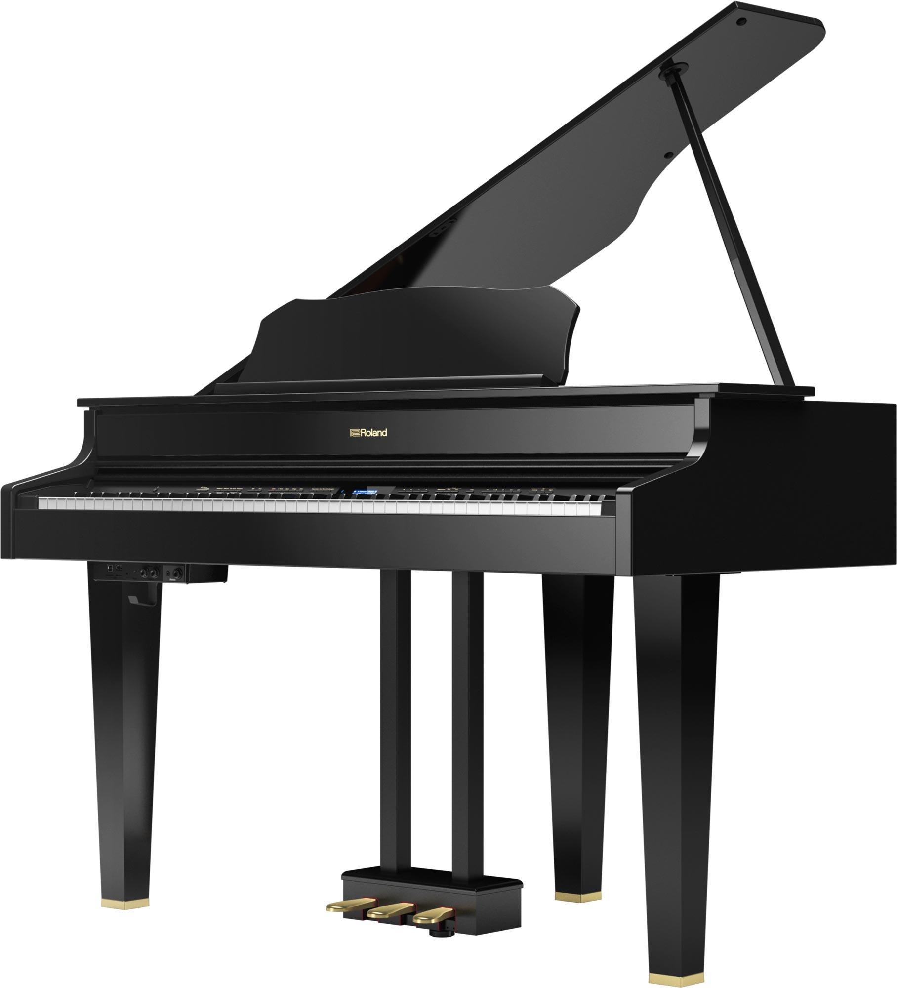 musikzentrum haas roland gp 607pe digital piano fl gel schwarz poliert sparpaket online kaufen. Black Bedroom Furniture Sets. Home Design Ideas