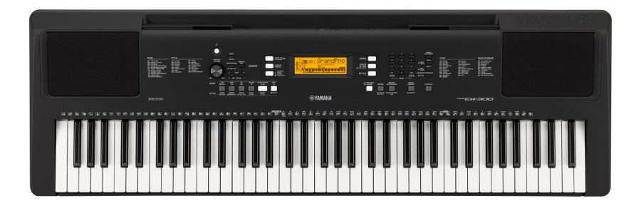 musikzentrum haas yamaha psr ew 300 keyboard online kaufen